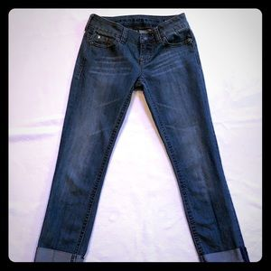 Stretch Capri jeans by Buffalo David Bitton Sz 26